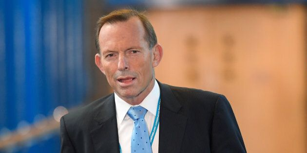 Former PM Tony Abbott is happy innovation has dropped down the coalition