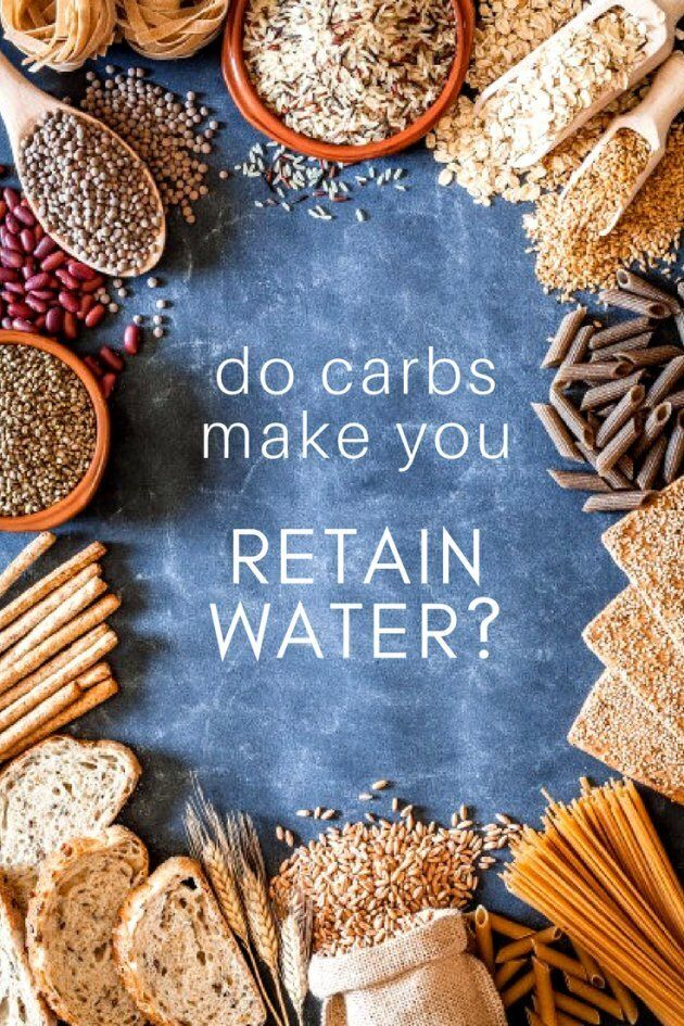 water retention on a high carb diet