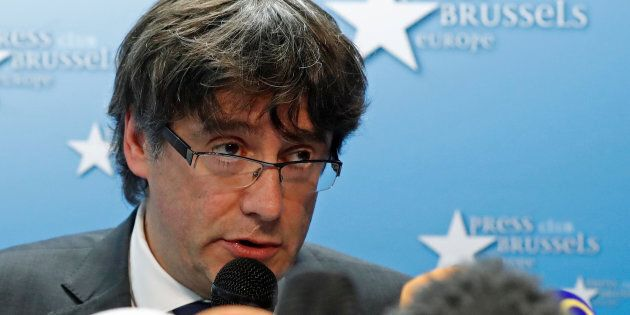 Ousted Catalan leader Carles Puigdemont will need to return from