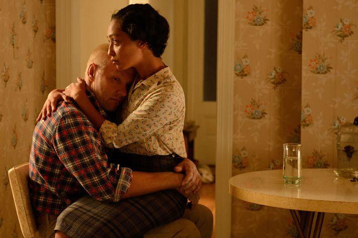 Joel Edgerton and Ruth Negga in 'Loving'.