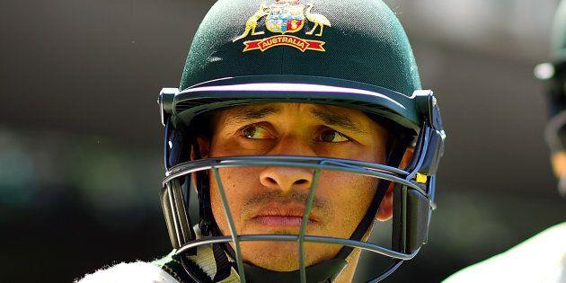 Usman Khawaja. A