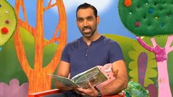 Adam Goodes Counted Animals On 'Play School' And It Was