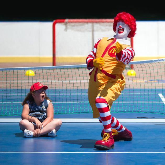 McDonald's is the biggest food and beverage sponsor of children's