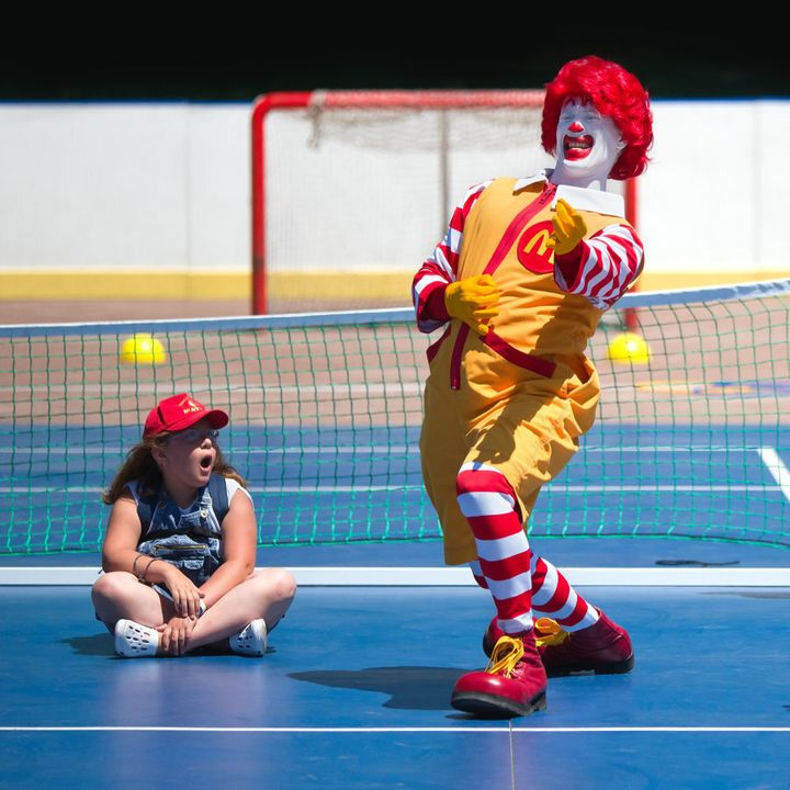 McDonald's is the biggest food and beverage sponsor of children's sports.