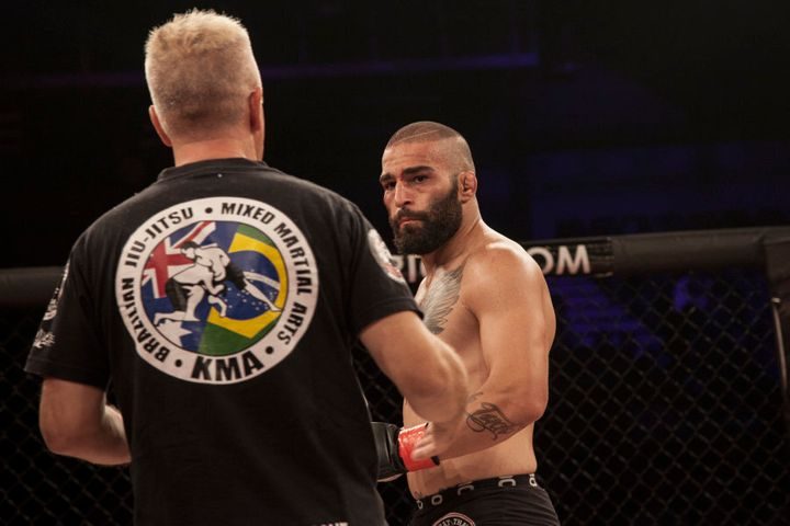 """Like Ali Cevik, 23-year-old fighter admits, """"If I hadn't found my love for this sport, I reckon I'd be in jail right now."""
