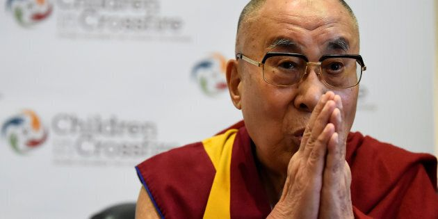 The Dalai Lama said science should be used for the benefit of