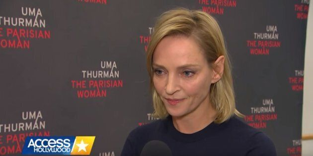 Uma Thurman's Response To Hollywood's Sexual Harassment Scandal Is