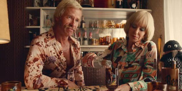 Kylie Minogue Is Almost Unrecognisable In First Boozy Trailer For 'Swinging