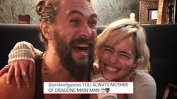 Jason Momoa And Emilia Clarke Had The Cutest 'Game of Thrones'