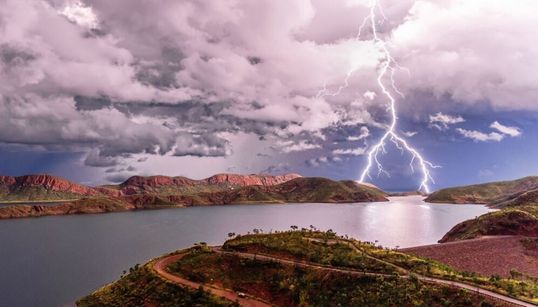 Behold! The Dramatic Beauty Of This Year's Best Aussie Weather