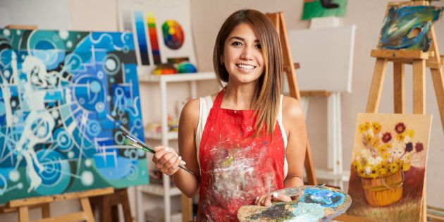 You can still be creative and have a business plan. Unless you have a benefactor, you will need to make a living from your art.