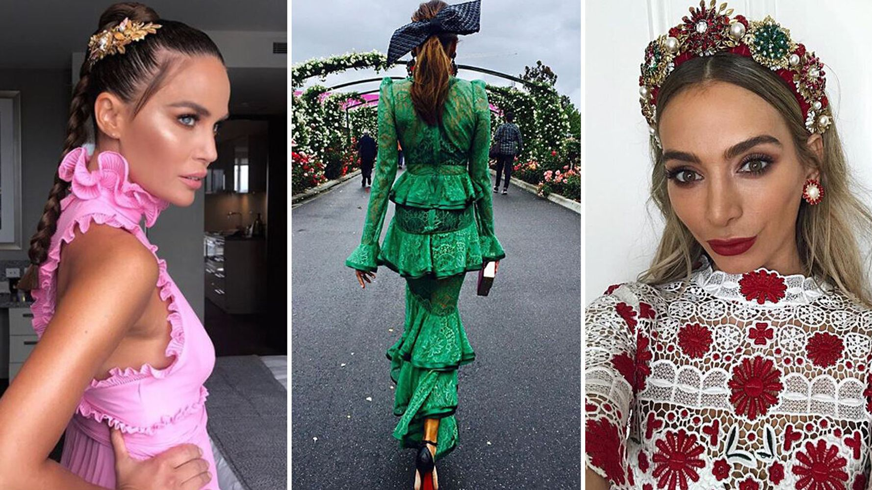 Melbourne Cup 2017 The Best Fashion From The Field Huffpost Australia Style