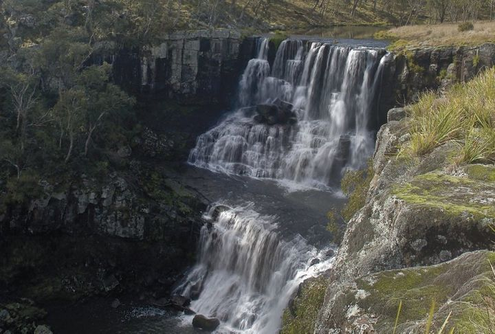 Ebor Falls, Guy Fawkes River National Park.