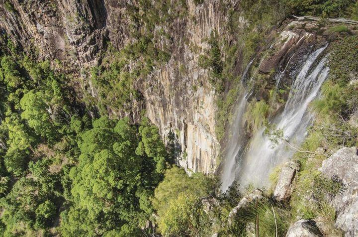 Minyon Falls, Nightcap National Park.