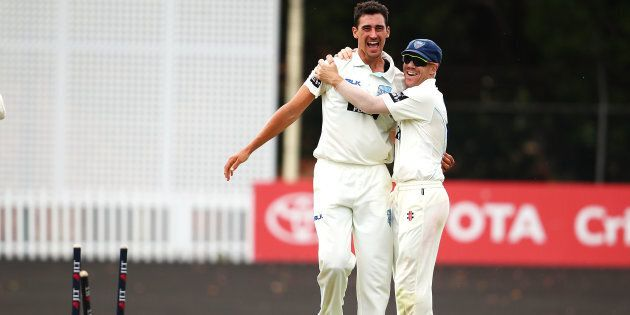 Mitchell Starc is on fire and his form couldn't have come at a better