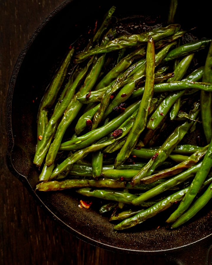Sautéing keeps veggies fresh and crisp. Try tossing in chilli and garlic to finish.