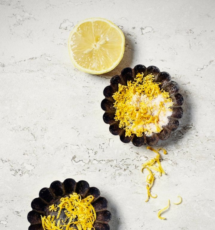 Adding lemon zest helps to cut through the sweetness and richness of both savoury and sweet dishes.