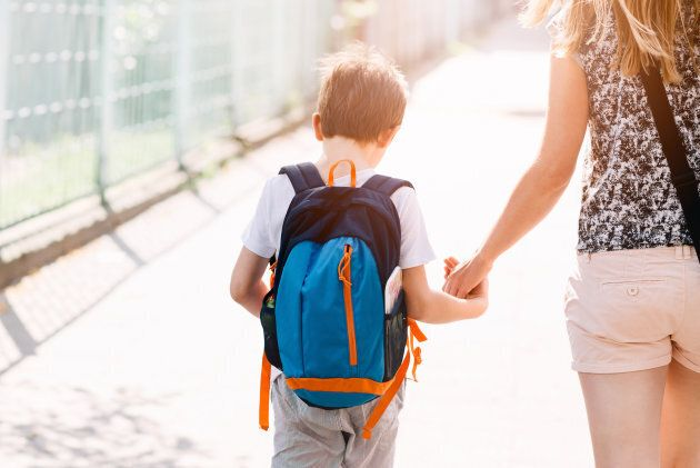 Starting school later to school had no affect -- positive or negative -- on the participants' mental health as adults.