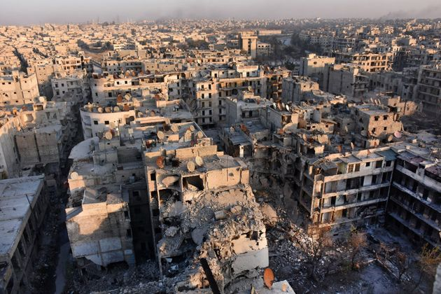 In a major breakthrough in the push to retake the whole city, regime forces captured six rebel-held districts...