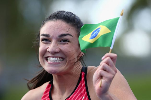Brazil is going to love this lady... especially if she breaks out a
