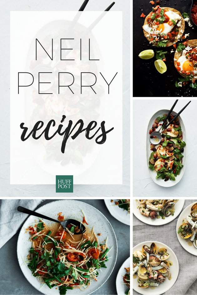 Neil Perry Shares His Favourite Recipes, And They're