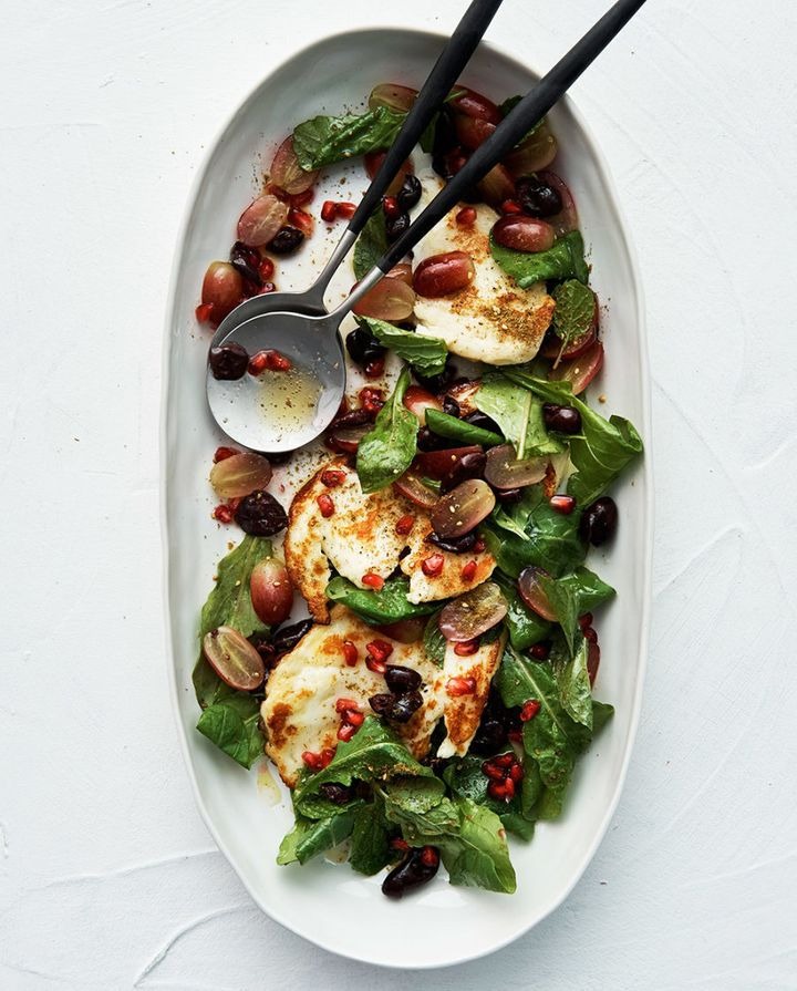 Haloumi lovers, this salad is calling your name.