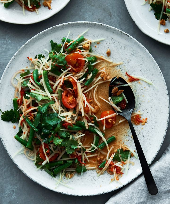 Perfect for summer, this mango salad is an ideal starter.