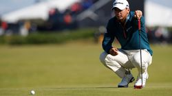 Aussie Jason Day Survives Halfway Cut at British