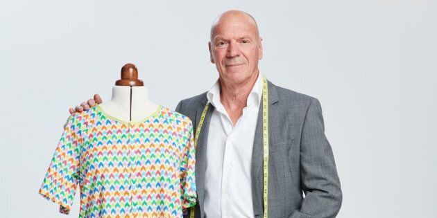 Bob Beveridge has designed hospital gowns to help patients keep their dignity.