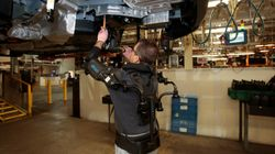 Detroit Auto Workers Fitted With Metal Exoskeletons To Reduce