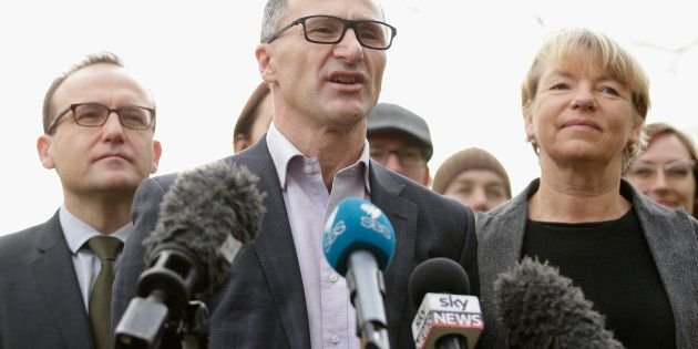 Richard Di Natale says the Greens deal on the 15 per cent backpacker tax will introduce