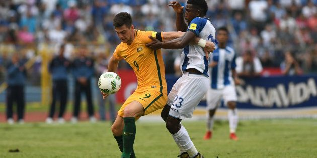 The Socceroos have drawn with Honduras on Saturday.