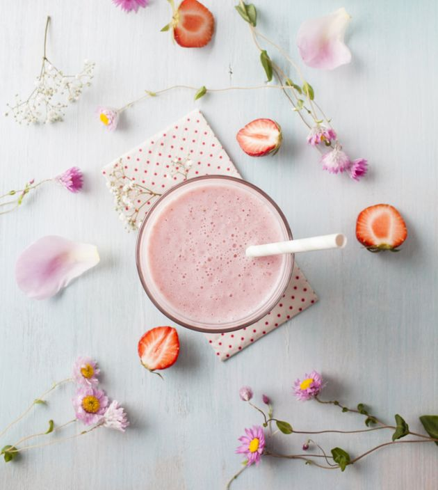Fill your smoothie with carbs (fruit, oats, Weet-Bix) and protein (nuts, milk, yoghurt, protein
