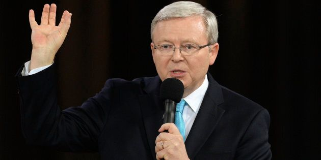 Kevin Rudd wants to be in the U.N.