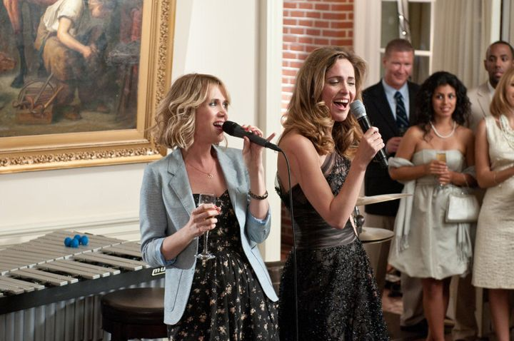 """Kristen Wiig and Rose Byrne have a very special kind of """"friendship"""" in 'Bridesmaids'."""