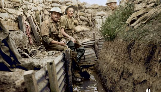 Rarely Seen WWI Photographs Brought To Life In