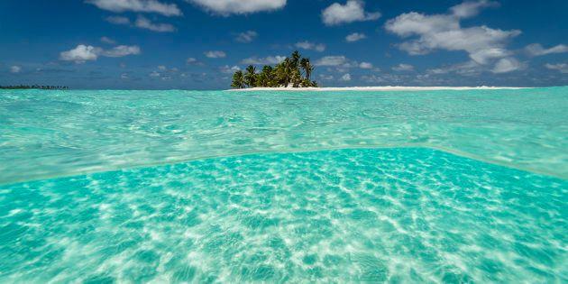 Cocos Keeling Islands' Cossies beach has been named Australia's best.