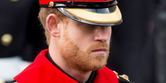 Prince Harry Criticized For Having A Beard At Remembrance