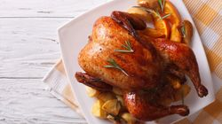 Watch: How To Carve A Roast Chicken Or