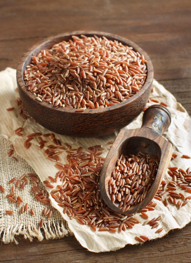 Use red rice in meals just as your would white