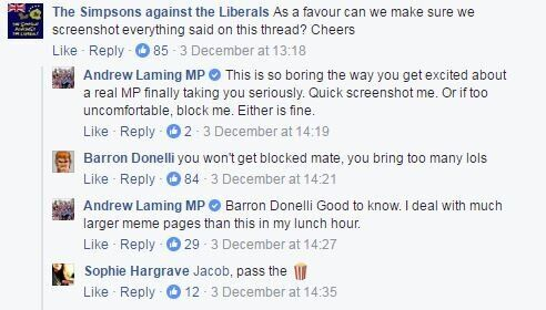 Queensland MP Andrew Laming Spent The Weekend At War With A Simpsons Meme