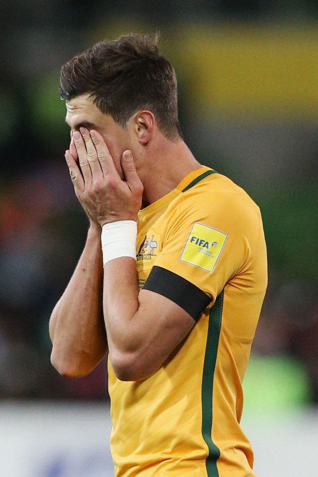 There were many moments exactly like this one during the Socceroos' qualifying