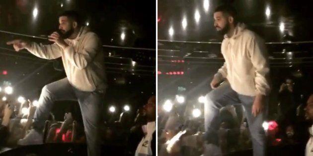 Drake Warns Man Groping Women In Audience: 'I'm Gonna F**k You