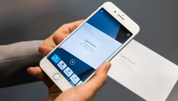 The Seeing AI app allows data to be read, simply by pointing your smartphone at a document.