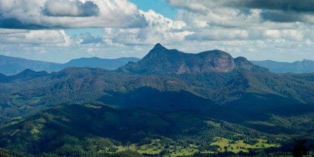 Mount Warning in Wollumbin National Park.