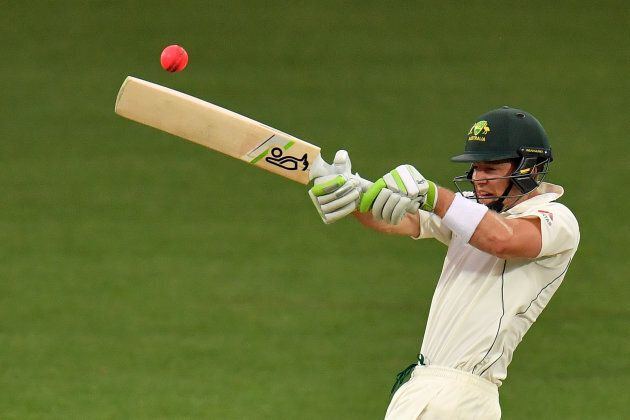 Paine in action against England recently batting for the Cricket Australia