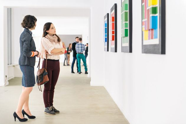 Art galleries or gyms can be great places to meet new