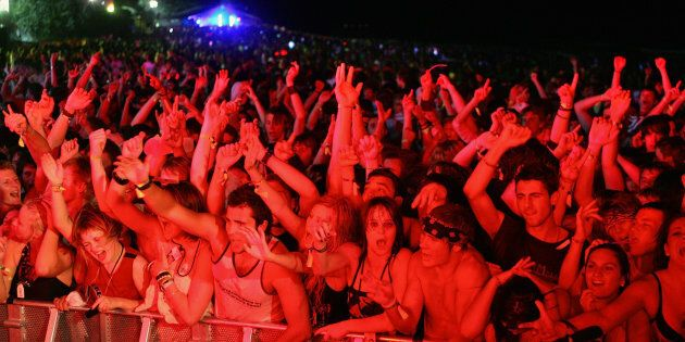 Police say they're pleased with Schoolies' first night.