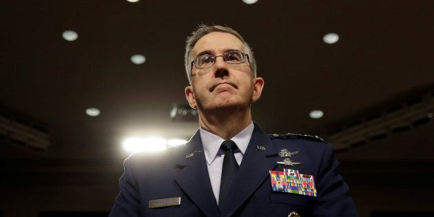 Air Force General John Hyten, commander of the U.S. Strategic Command, said he would resist an 'illegal'...