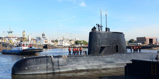 The Argentine military submarine ARA San Juan is